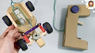 How to make a Racing Car - Out of Cardboard