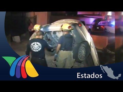 Auto cae en hoyo en Juárez | Noticias de Ciudad Juárez