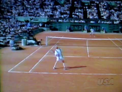 Pete サンプラス vs Jim クーリエ 全仏オープン 1996 pt. 1 of  2