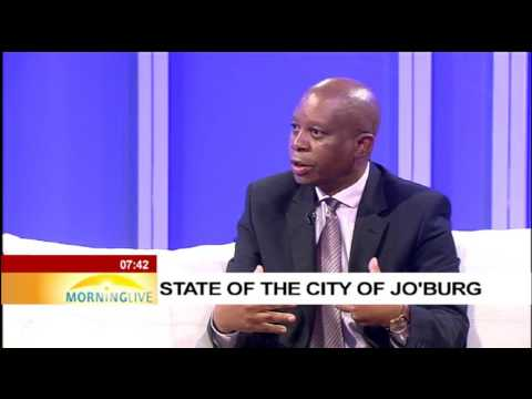 Mayor Herman Mashaba on state of the City of Johannesburg
