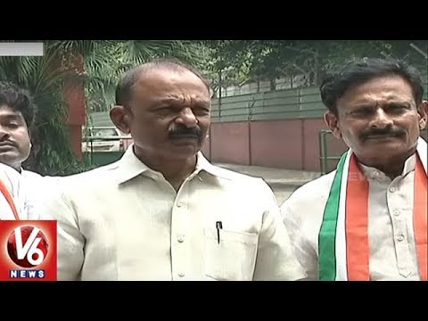 Byreddy Rajasekhar Reddy Joins Congress In The Presence Of Rahul Gandhi | Delhi | V6 News