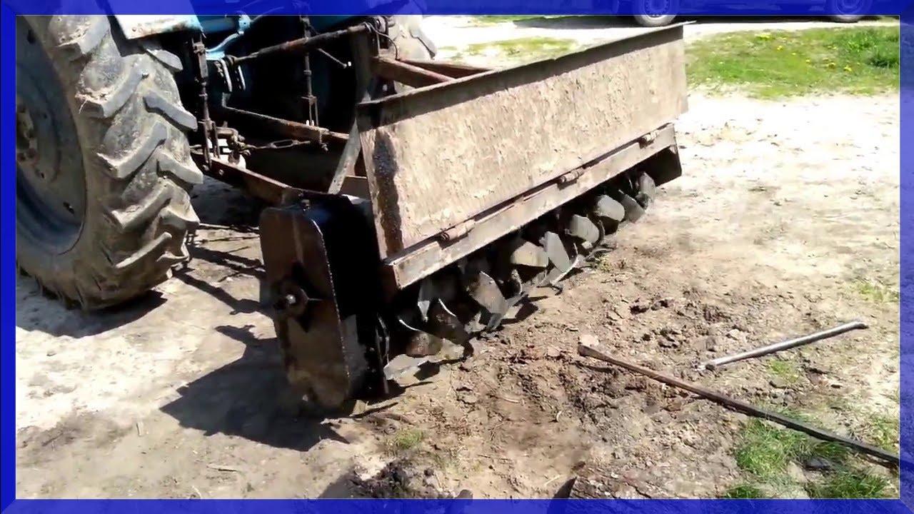 Фреза к трактору т-25