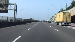 Ville Marie Expressway (Autoroute 720) westbound