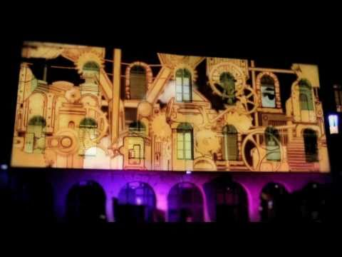 best building projection 3d mapping