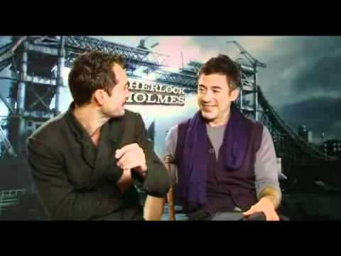 Funny/Cute Moments with RDJ and Jude Law Pt.1