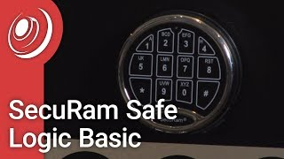 SecuRam Safe Logic Basic - Opening & Changing Your Combo