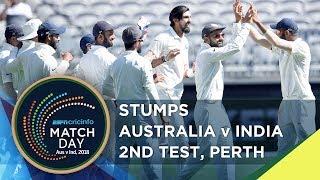 Stumps - 'Australia will be happier than India today' - Laxman