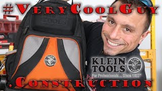 Inside A Contractors Klein Tradesman Pro Backpack!