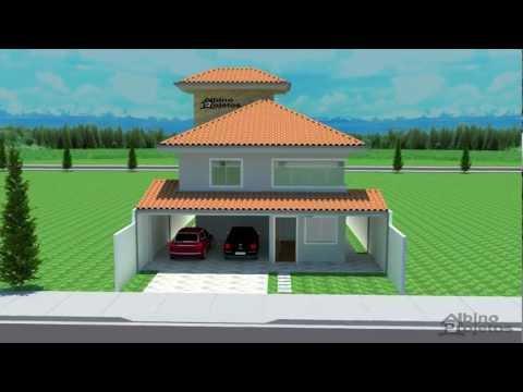 Casa 2 andares - Projeto Arquitetônico