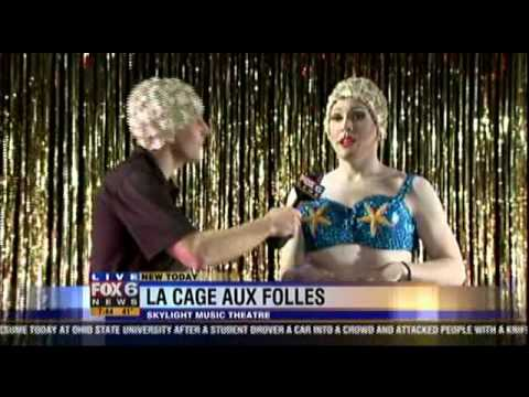 "Water Ballet with the Cast of ""La Cage Aux Folles"" on Fox 6 WakeUp"