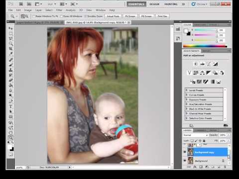 Photoshop gyorstalpaló 6. - Rétegek kezelése és maszkolása