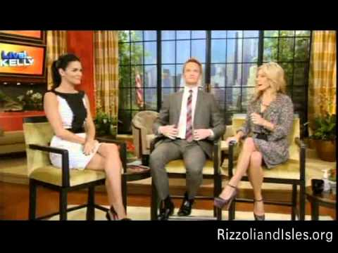 Angie Harmon on Live with Kelly on November 28, 2011