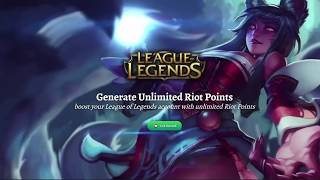 How to get Unlimited RP | League of Legends Riot Points | Proof it works 2018