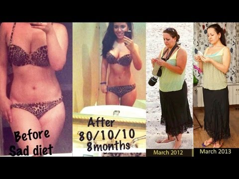 Amazing Raw Vegan Before & After photos!