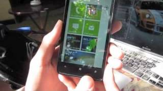 Trn tay HTC HD7