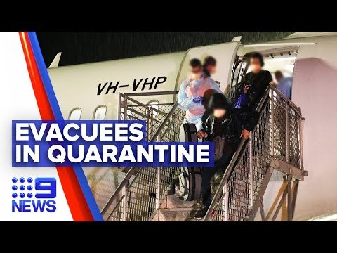 Coronavirus: Australians rescued from virus epicentre | Nine News Australia