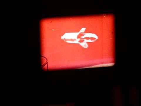 Apollo 7 8mm Movie Film Takeoff on Canon Cine-Projector S-400 8mm Projector