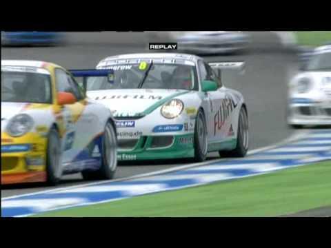 Porsche Carrera Cup Deutschland 2008: Gara 1, Hockenheim (parte 3)