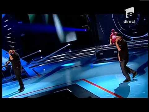 Parazitii - din Coltul Blocului - X Factor Romania, Sezonul Trei video