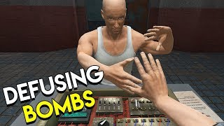 DEFUSING BOMBS - Hand Simulator