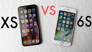 iPHONE XS Vs iPHONE 6S! (Should You Upgrade?) (Review)