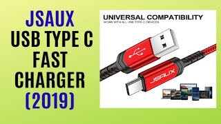 Fast Charger Nylon Braided USB C Cable QUICK REVIEW / The Best Seller on AMAZON 2019