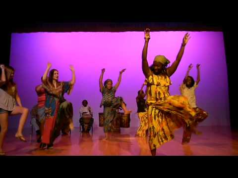 Richmond Cultural Group : West African Dance and Drumming.avi