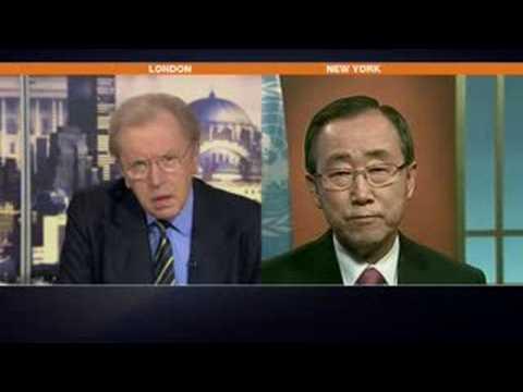 Frost over the world - Ban Ki-Moon- Sept 19, 2008
