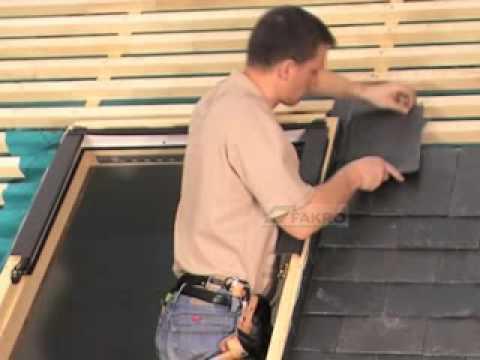 Fakro fen tre de toit de montage de raccord d 39 tanch it for Fakro fenetre de toit