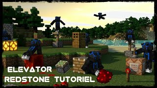 how to make an simple elevator in minecraft
