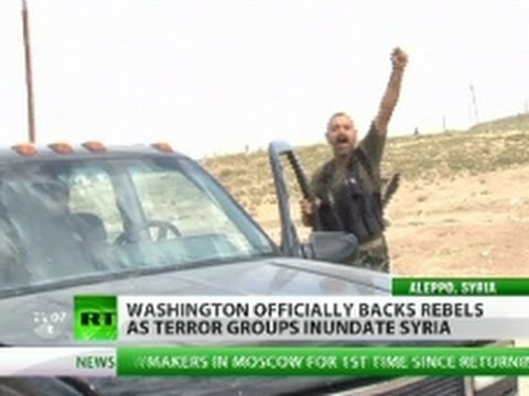 Open War? Obama backs Syria rebels 'infiltrated with terrorists'
