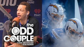 Chris Broussard - The Chargers Need To MOVE OUT of LA