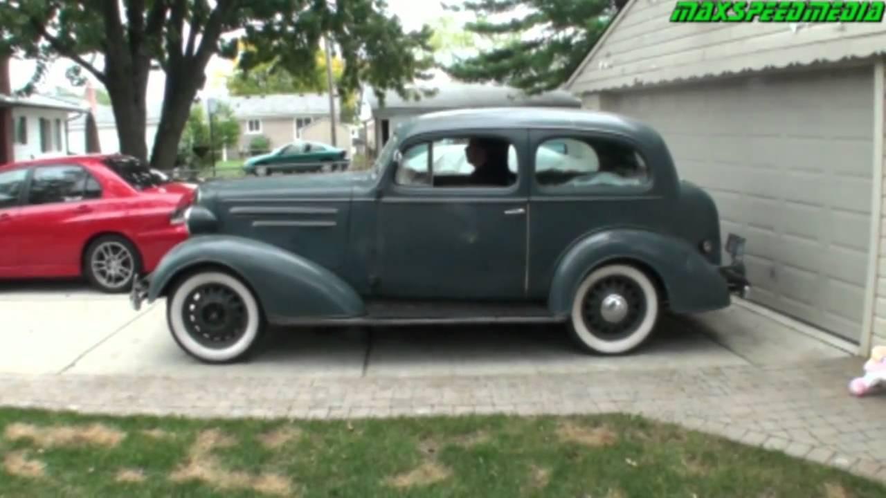 1936 chevrolet master deluxe youtube for 1936 chevy 4 door sedan