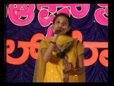 Shantheri kamath sings 'Baala Bangara neenu' song from kannada movie 'Bangarada Manushya'