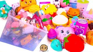 50 Squishies !!!! Giant Kawaii Squishy Haul + Surprise Blind Bags
