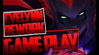 EVELYNN REWORK НОВАЯ ЭВЕЛИНА GAME PLAY ЛУЧШИЕ ИГРОКИ ИГРАЮТ ЗА Evelynn 2017 League of Legends