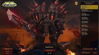 Bajheera - 970+ iLvl Warrior/DH 3v3 to 2500+ (Part 1) - WoW Legion Season 7 PvP