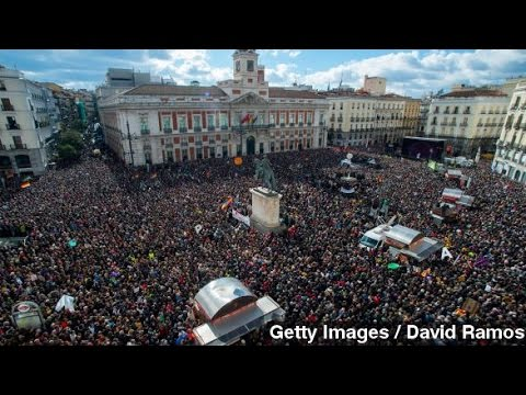 Spain's Anti-Austerity Podemos Party Hopes To Bring Change