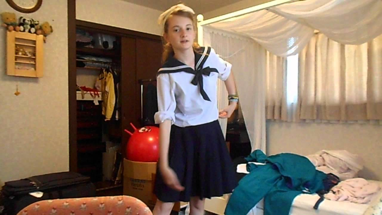 Japan Vlog 9 My School Uniforms Youtube