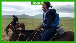 Hinke deed mee aan één van de zwaarste paardenraces ter wereld
