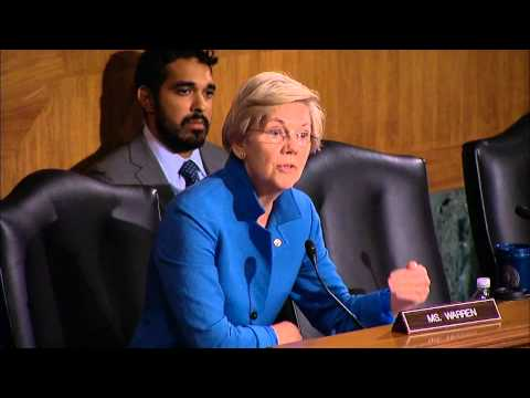 Sen. Elizabeth Warren: How many Wall Street bankers have been prosecuted?