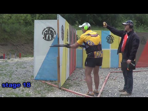 CESO 2014 shotgun IPSC all stages