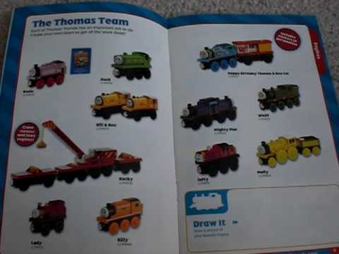2009 Thomas Wooden Railway Yearbook Review Part 1