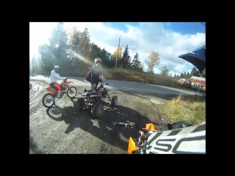 ATV and MX in Norway (GoPro HD Hero)