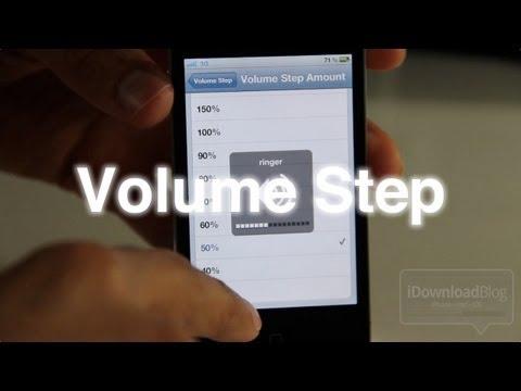 Volume Step