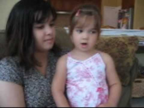 Kaitlyn Maher (@ 3 years old) sings Amazing Grace