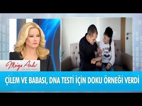 Çilem ve babası İbrahim Er, DNA testi için doku örneği verdi - Müge Anlı İle Tatlı Sert 28 Kasım