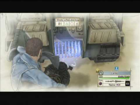 Valkyria Chronicles - Outskirts of Bruhl (Hard Skirmish 1) - A Rank