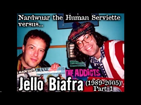 Nardwuar vs. Jello Biafra pt 1 of 2 (1989-2005) Video