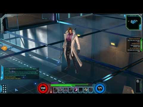 Marvel Heroes - Gambit Gameplay